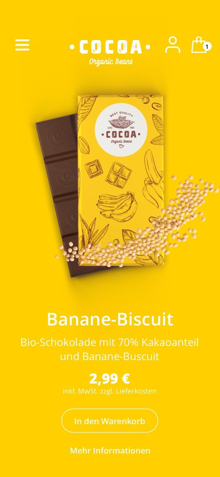 Cocoa Case UI Screen